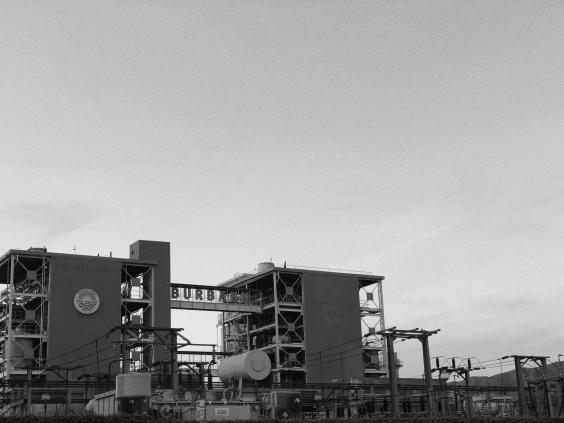 City of Burbank water plant, Jan.2019